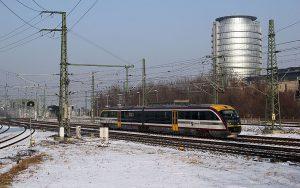 ©Foto: Philipp Böhme | Siemens Desiro Dieseltriebwagen der Baureihe 642 der Städtebahn Sachsen in Dresden.