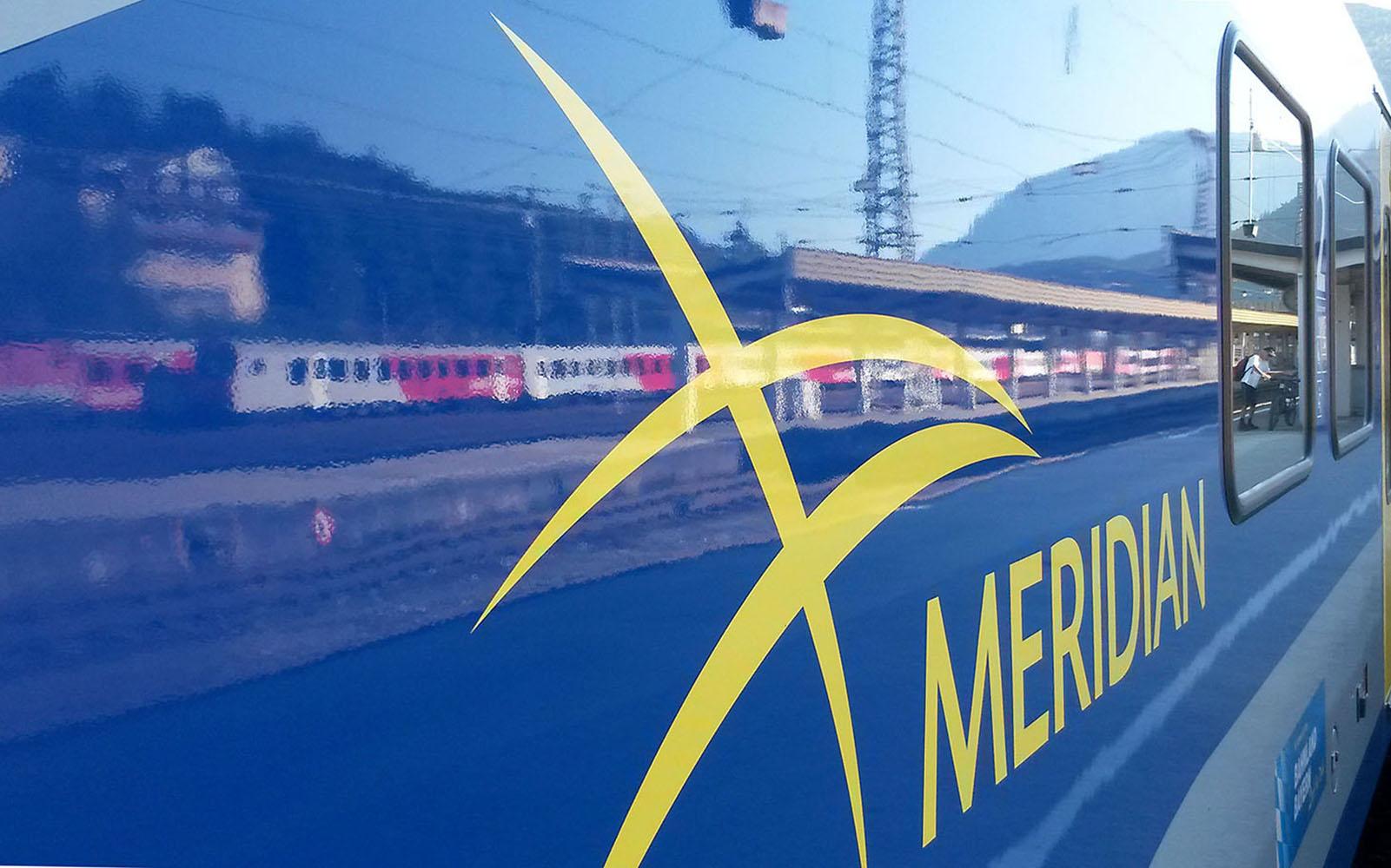 Foto: Der Meridian in Bayern - längjähriger railmen-Kunde im Personennahverkehr. Das Meridian-Unglück 2016 wird auch den railmen-Mitarbeitern auf ewig in Erinnerung bleiben.