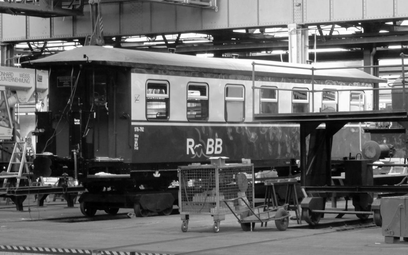 Foto: Christian Wodzinski - Personenwagen der Rügenschen BäderBahn (Rasender Roland)
