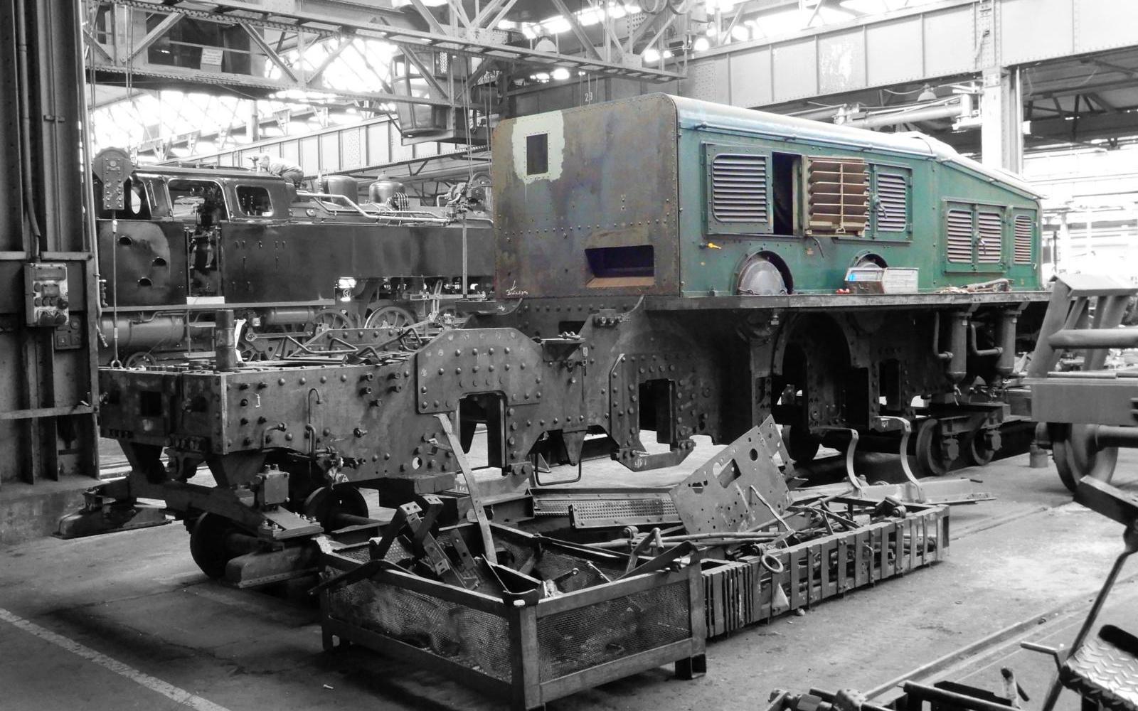 "Foto: Christian Wodzinski - ""Krokodil""-Lokomotive Ce 6/8 III 14305 von SBB Historic"