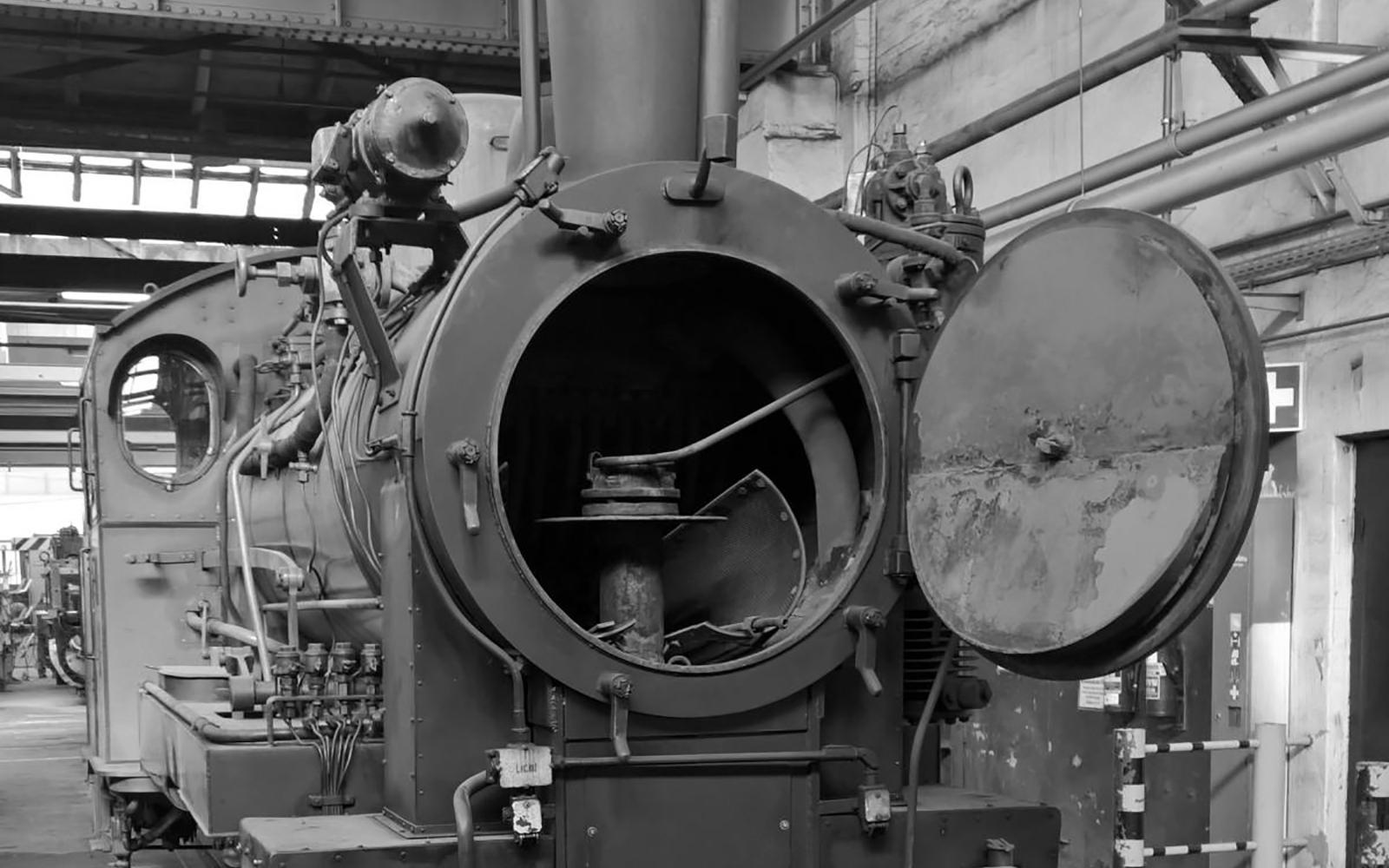 Foto: Christian Wodzinski - Blick in die Rauchkammer