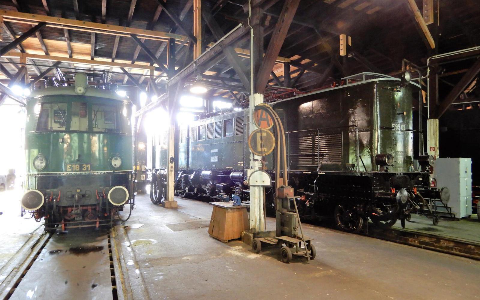 ©Foto: Christian Wodzinski | railmen | Im Lokschuppen des DB Museums Halle