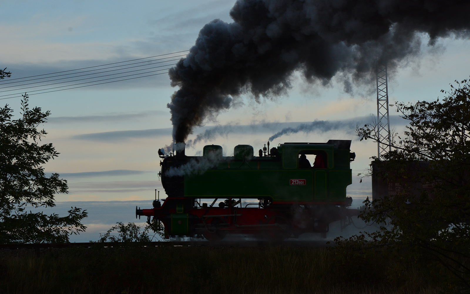 Schmalspur in Osteuropa Foto von Steffen Mann