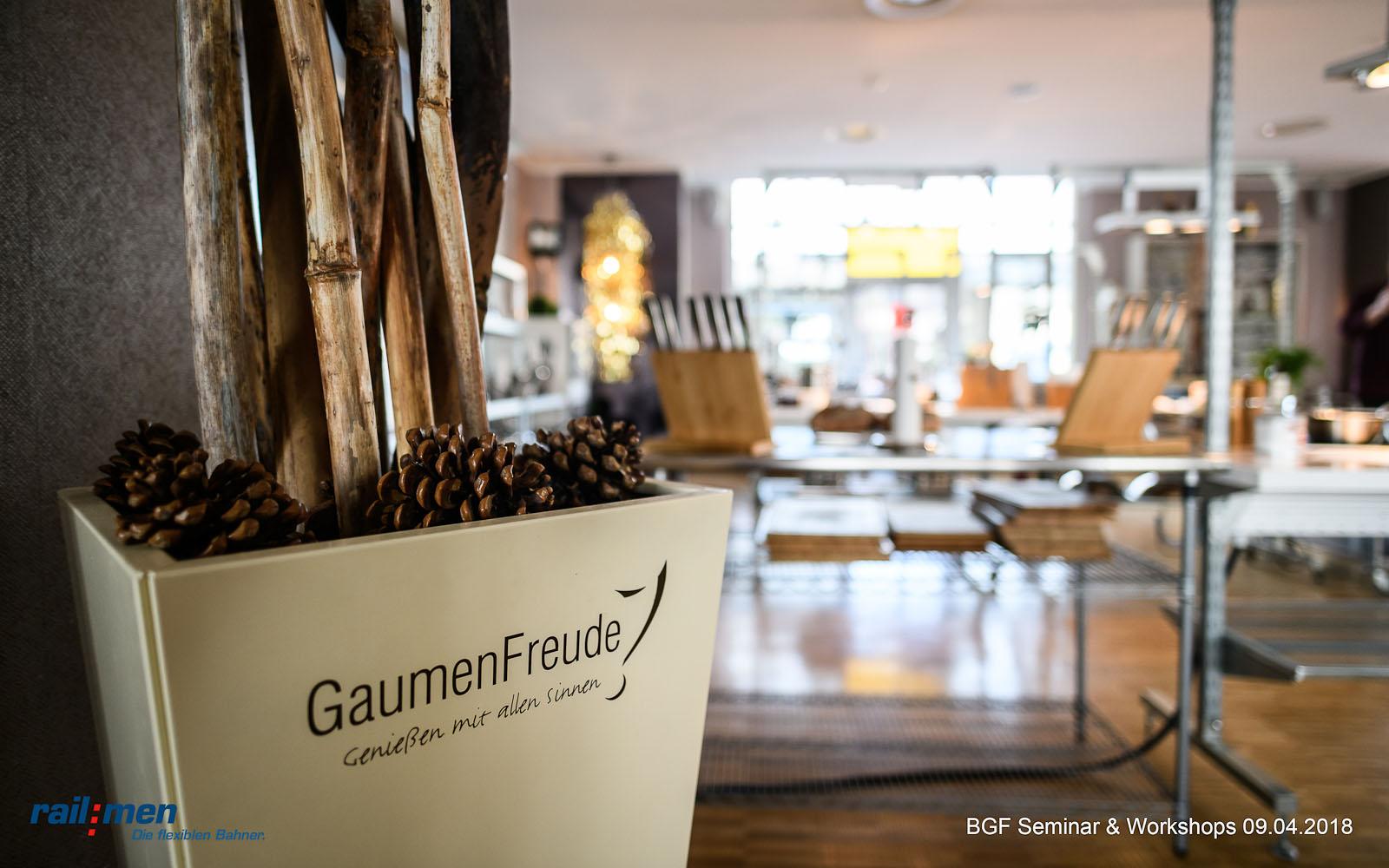 © Foto: Eric Kemnitz   Railmen BGF Workshop 1   Gaumenfreude