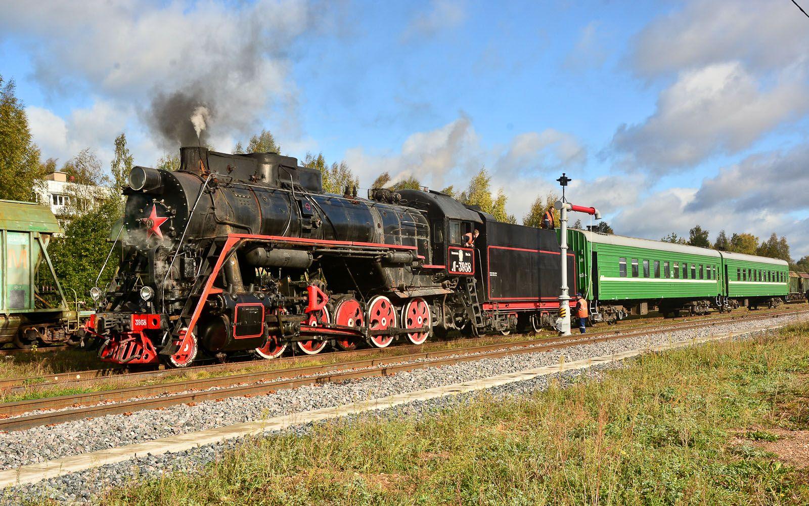 ©Foto: railmen Steffen Mann | Die Dampflok L-3958 ist Baujahr 1955 und stammt aus der Lokfabrik Woroschilowgrad