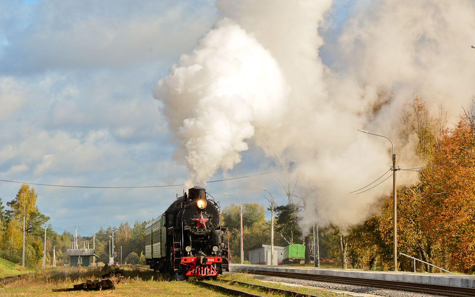 ©Foto: Steffen Mann | Historische Dampflok L-3958 ist Baujahr 1955 und stammt aus der Lokfabrik Woroschilowgrad