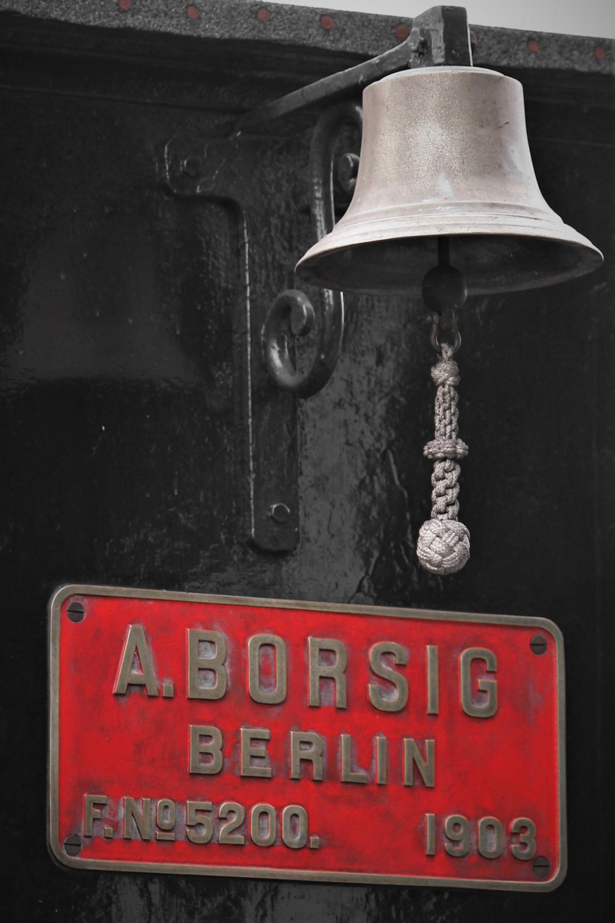 ©Foto: Christian Wodzinski | Museumsbahn Maribo-Bandholm | Glocke