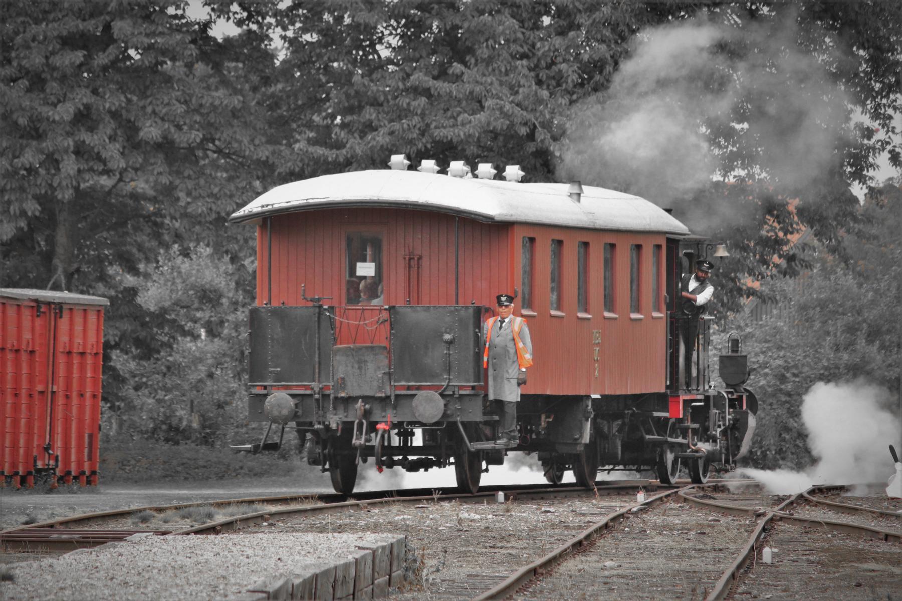 OKTOBER-MOTIV | ©Foto: Christian Wodzinski | Museumsbahn Maribo-Bandholm