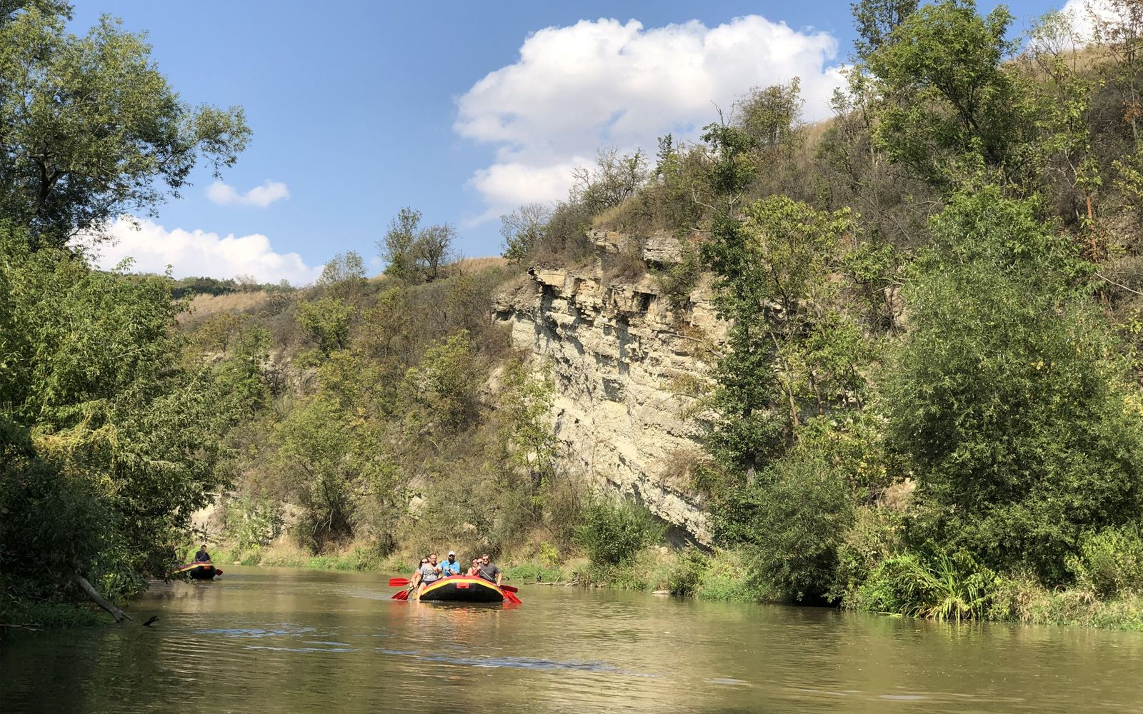 ©Foto: Jahn Krehl | Railmen-Tag 2019 | Rafting-Tour