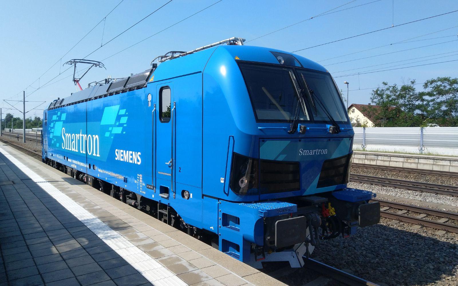 ©Foto: Denis Herwig | railmen | Siemens Smartron Baureihe 192 in Rohrbach an der Ilm