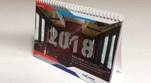 railmen Kalender 2018 Titelbild