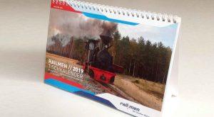 railmen Kalender 2019 Titelmotiv