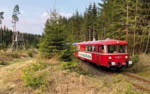 ©Foto: Jan Krehl | railmen | Wisentatalbahn auf der Strecke zwischen Schleiz und Mühltroff