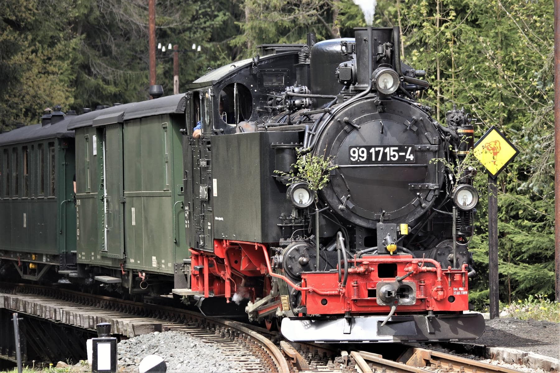 ©Foto: Christian Wodzinski | railmen | Lok 99 1715-4, gebaut 1927 in der Sächsischen Maschinenfabrik Chemnitz