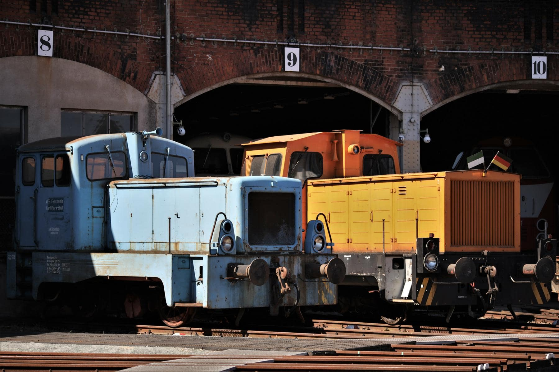 ©Foto: Christian Wodzinski | railmen | Etwa ein Dutzend Diesellokomotiven verschiedener Leistungsklassen gehören zur Fahrzeugsammlung.