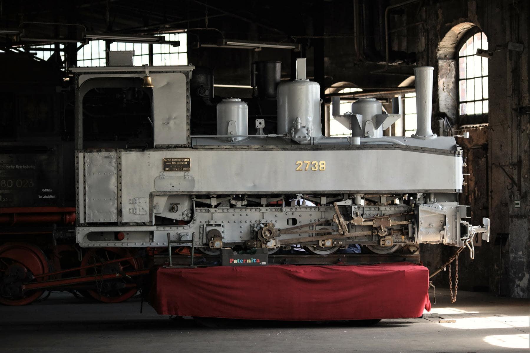 ©Foto: Christian Wodzinski | railmen | Brigadelok der Chemnitzer Lokfabrik Richard Hartmann von 1919, die nach Rückkehr aus Ostafrika museal aufgearbeitet wird.