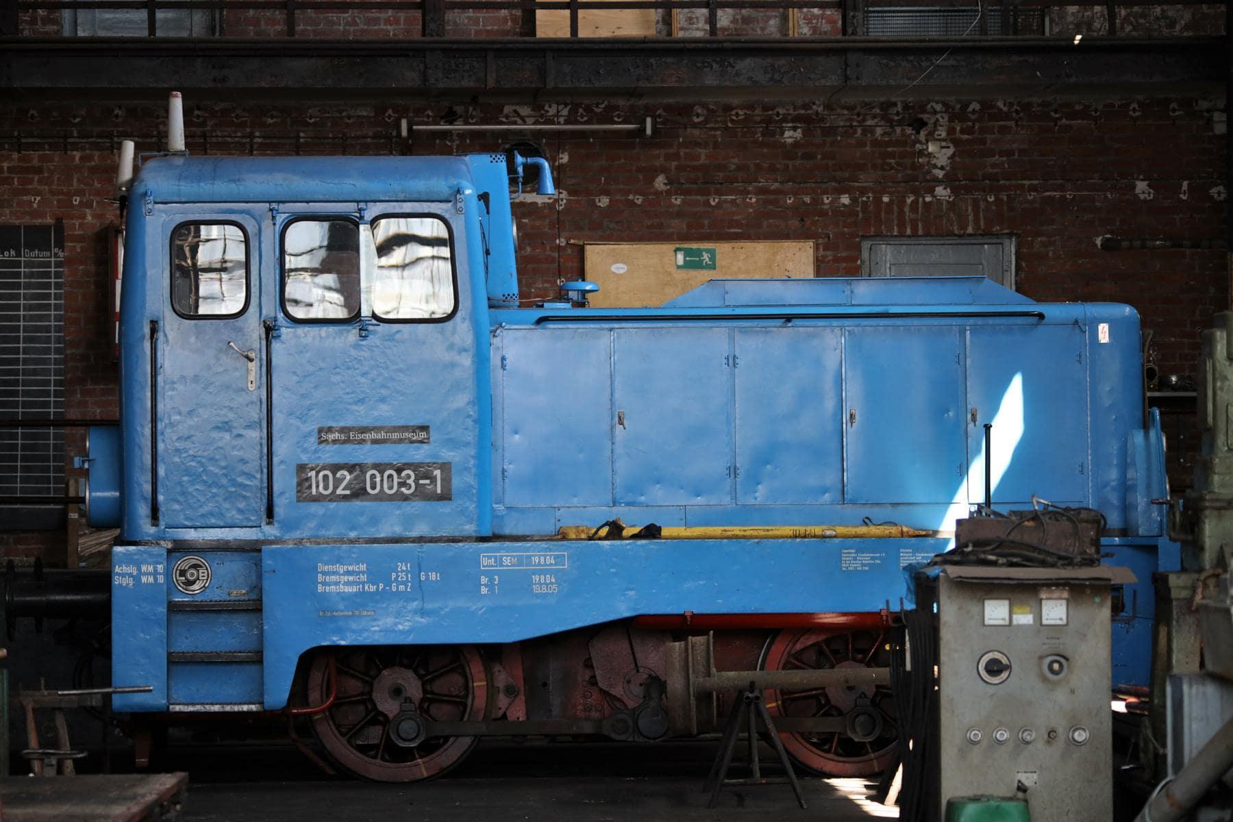 ©Foto: Christian Wodzinski | railmen | Diesellokomotive für den leichten Rangierdienst – LKM Type V 22B