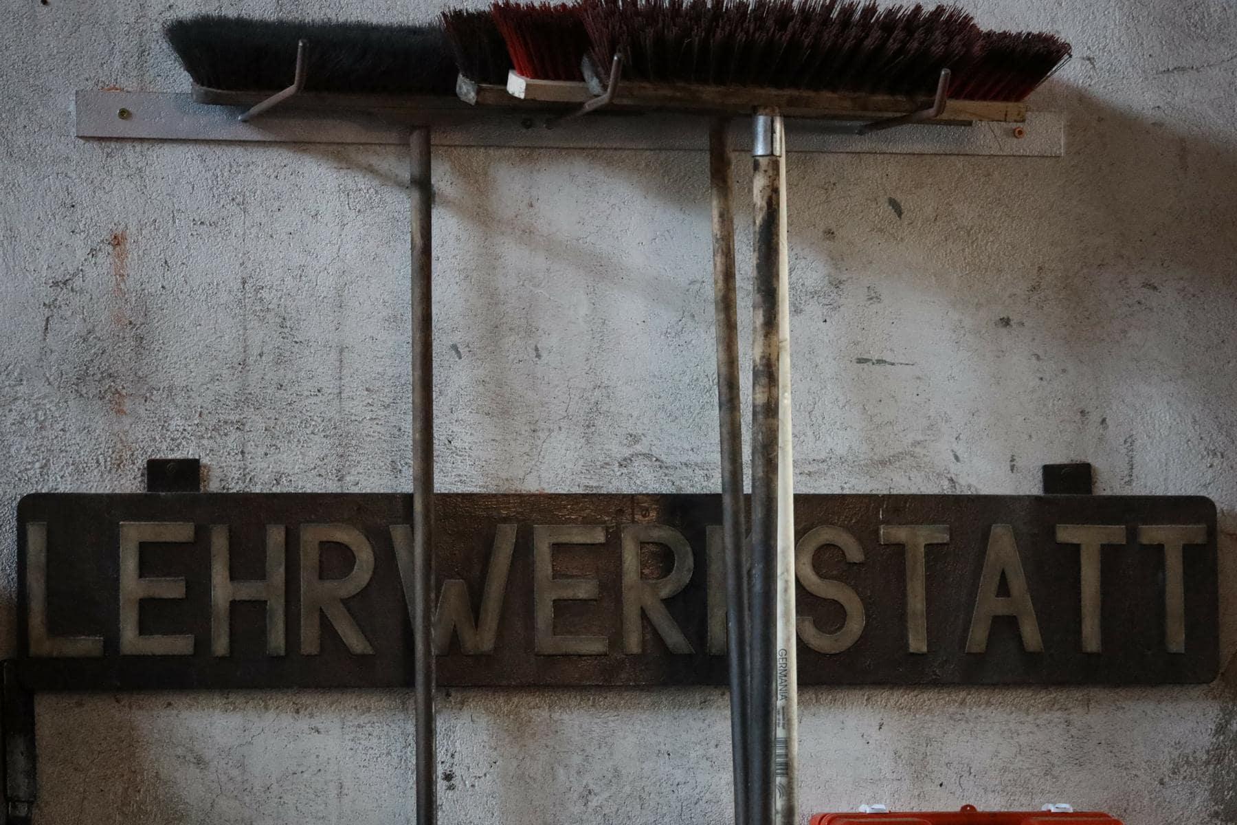 ©Foto: Christian Wodzinski | railmen | Eine Lehrwerkstatt gehörte fast zu jedem Bahnbetriebswerk. Einige Überreste finden sich auch in Chemnitz.