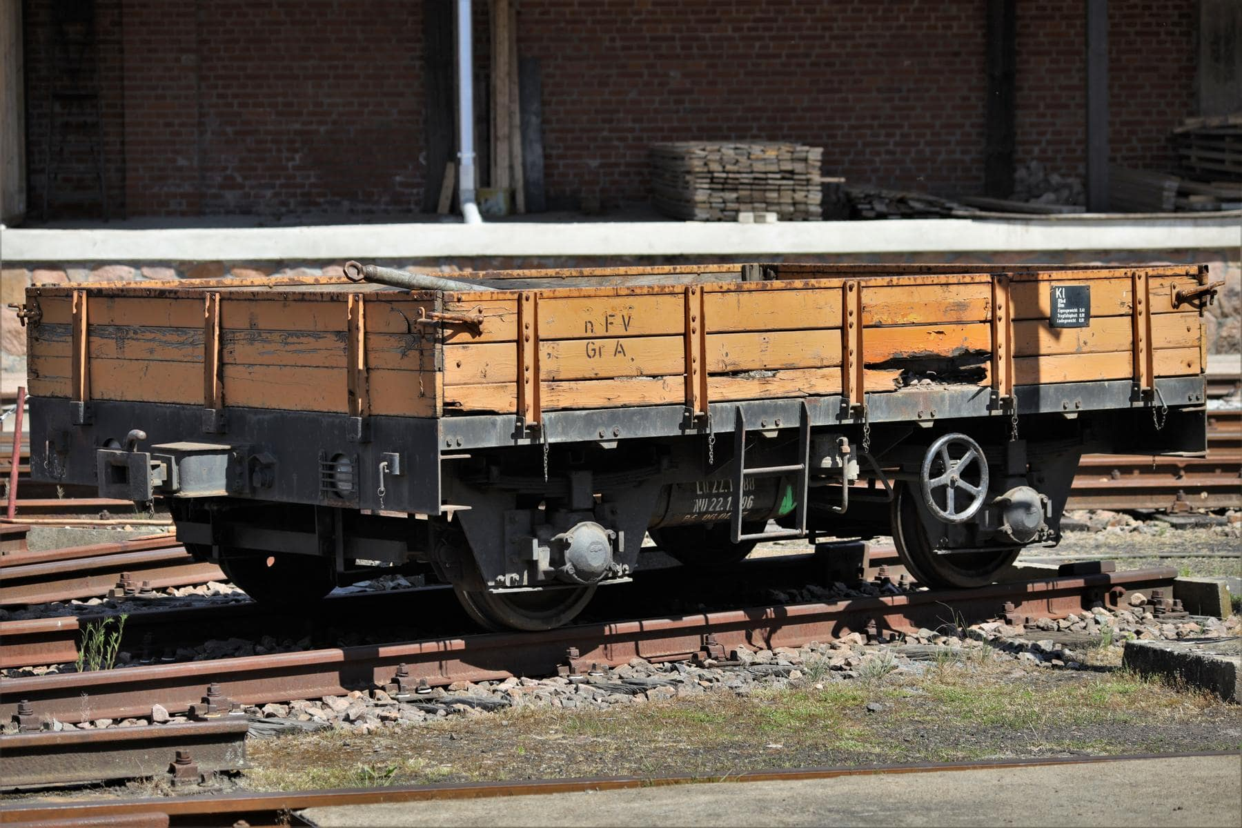 ©Foto: Christian Wodzinski | railmen | Abgestellter Kleinwagen im Eisenbahnmuseum