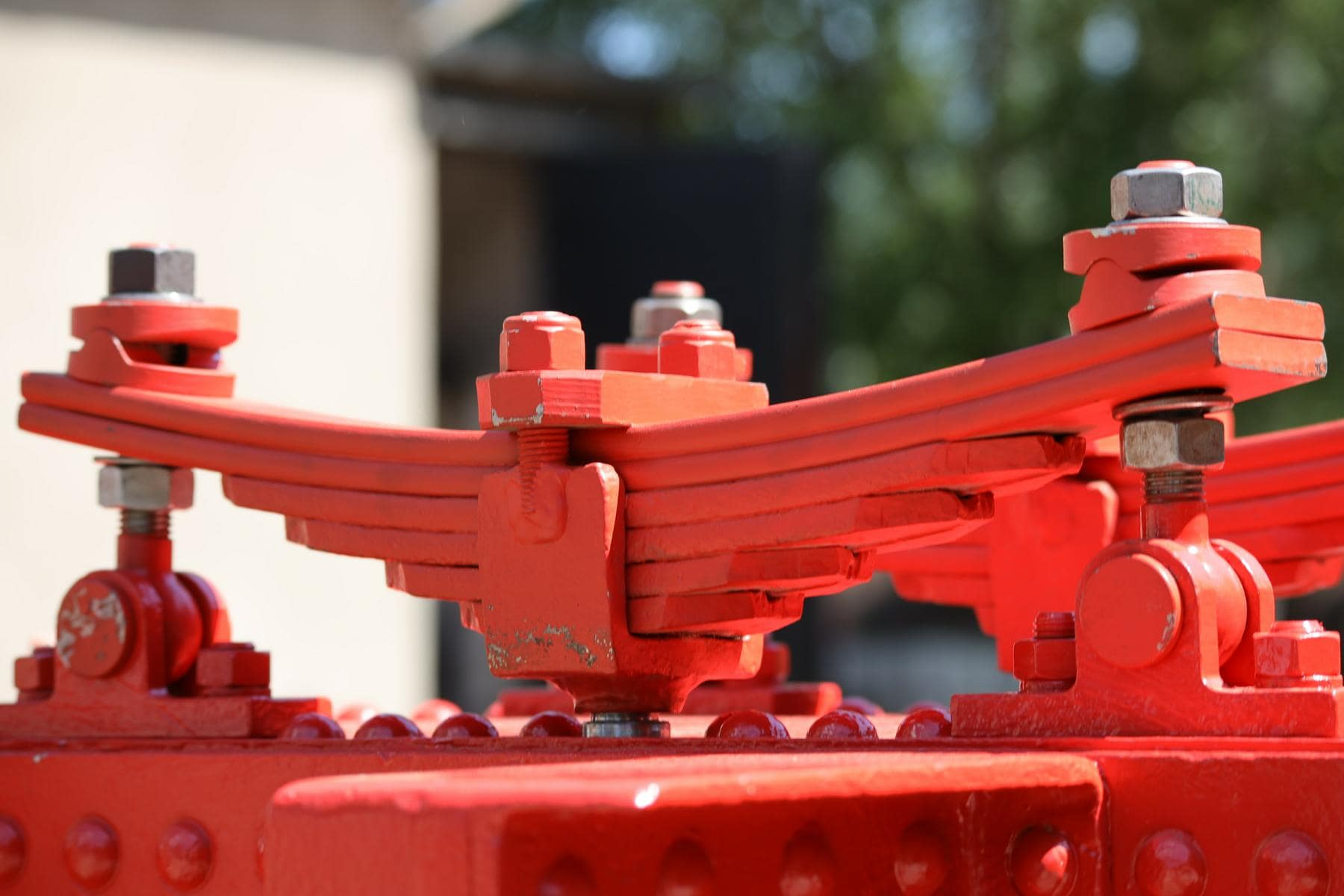 ©Foto: Christian Wodzinski | railmen | Blattfeder am aufgearbeiteten Rahmen einer Feldbahnlokomotive