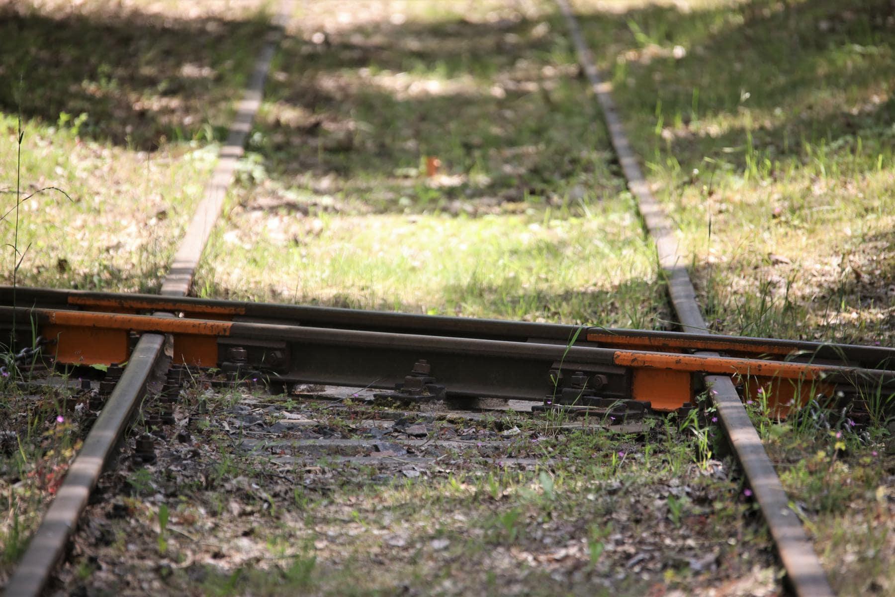 ©Foto: Christian Wodzinski | railmen | Eine selten anzutreffende Kreuzung von Bahnen – hier der Feldbahn über ein Nebengleis des Bahnbetriebswerkes Hilbersdorf