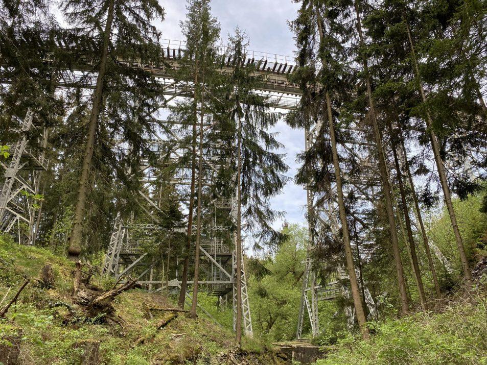 ©Foto: Jan Krehl | railmen | Die Ziemestalbrücke Im Thüringer Schiefergebirge
