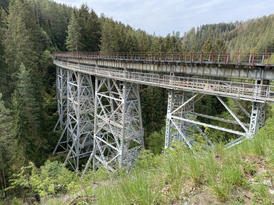 ©Foto: Jan Krehl | railmen | Ziemestalbrücke im Thüringer Schiefergebirge