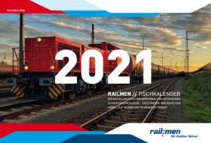 Covermotiv Railmen2021 Kalender