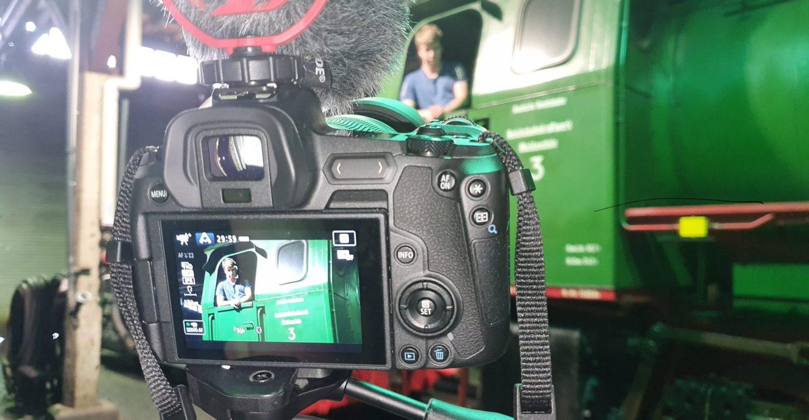 ©Foto: Azubis | railmen | Videodreh zur Projektwoche in Halle (Saale)