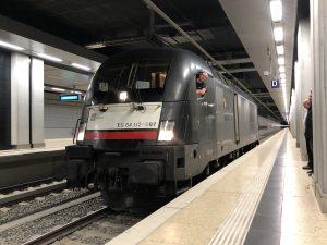 ©Foto: Jan Krehl | railmen | Bahnhof des neuen Flughafen BER | railmen testet schon mal die neuen Gleise