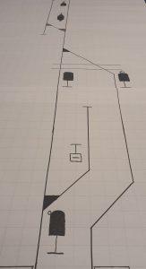 Streckenbandskizze der railmen Azubis