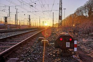 ©Foto: André Rosendahl   railmen   Gleis 113 am Güterbahnhof Aachen West in winterlicher Morgenstimmung