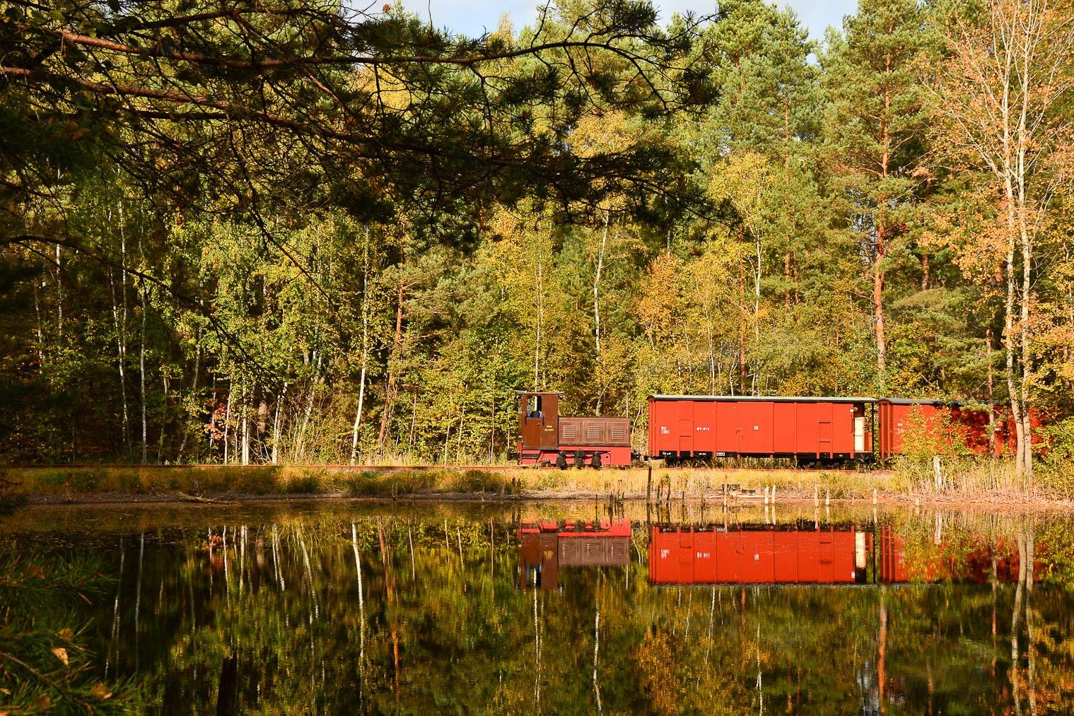 ©Foto: Steffen Mann | railmen | Sonderfahrt durch den Tagebau Nochten – Geopark Muskauer Faltenbogen