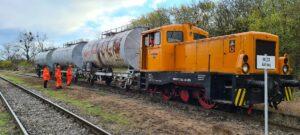 ©Foto: Konstantin Kirsch | railmen | Praxisunterweisung am Übungszug in Nordhausen