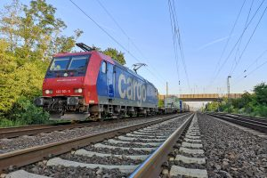 ©Foto: André Rosendahl | railmen | KLV-ZUG DER SBB CARGO MIT 482 001 IN HEPPENHEIM NORD.