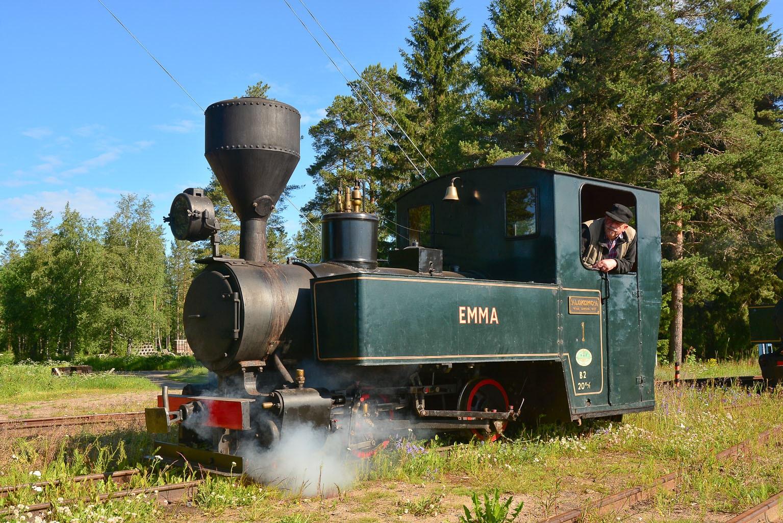 ©Foto: Steffen Mann | railmen | Finnland 2019 | Museumsbahn von Nykarteby Jernväg in Kovjoki |