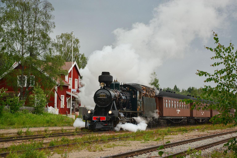 ©Foto: Steffen Mann | railmen | Finnland 2019 | Dampflok Hr3 995 2´c h2 Lokomotive 137/1941 mit P-Zug Bf Vuokatti