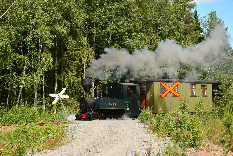 ©Foto: Steffen Mann | railmen | Finnland 2019 | Museumsbahn von Nykarteby Jernväg in Kovjoki mit