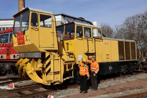 ©Foto: Christian Wodzinski | 2021 | railmen Auszubildende Konstantin Kirsch und Tim Allgaier (Dampflokverein Glauchau)