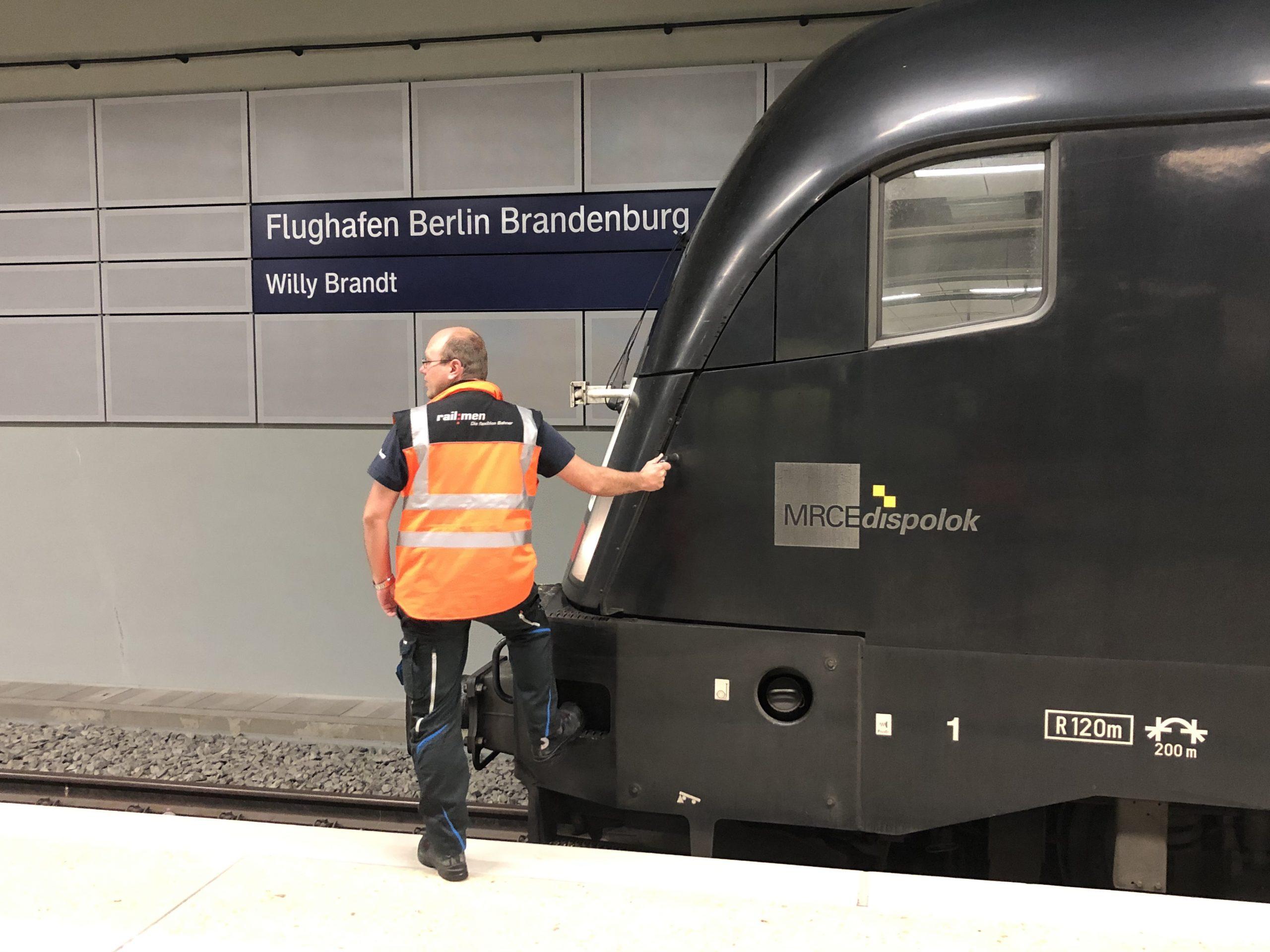 ©Foto: Jan Krehl | railmen | Erkundungstour durch den Untergrund des neuen Flughafen Berlin Brandenburg BER vor der Eröffnung.