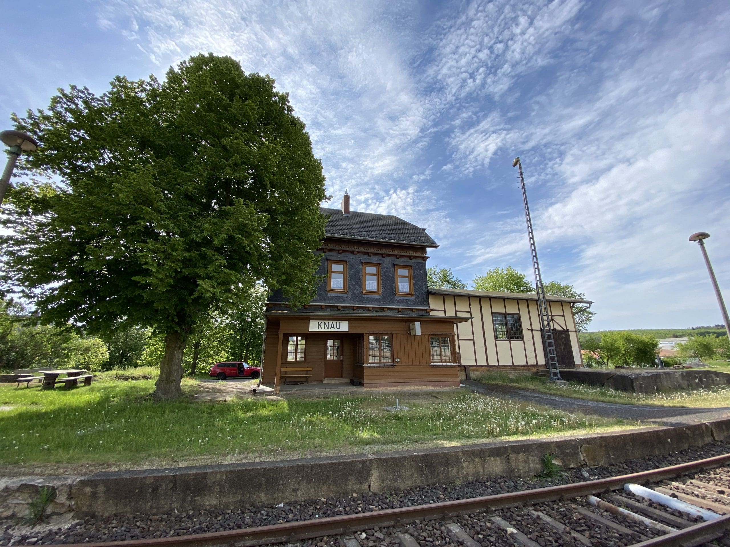 ©Foto: Jan Krehl | railmen | Historischer Bahnhof Knau