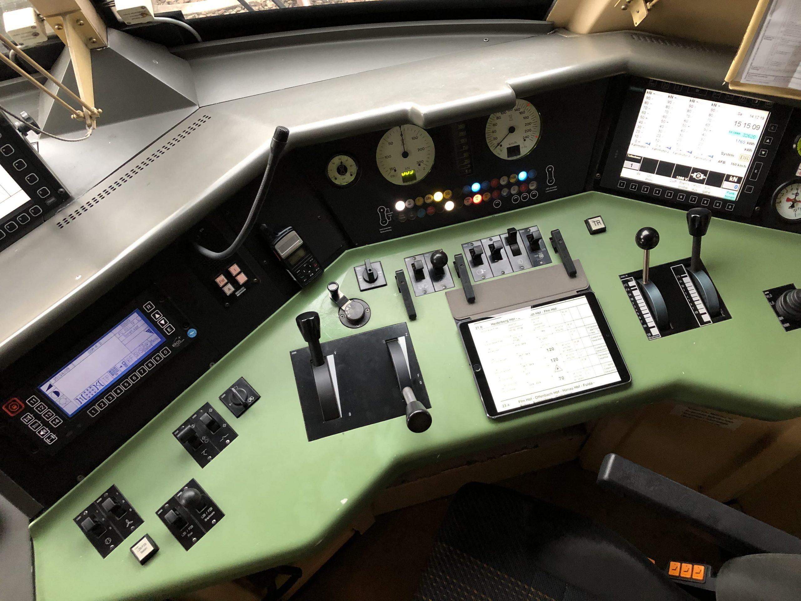 ©Foto: Jan Krehl | railmen | Führerstand eines Taurus, Baureihe 182