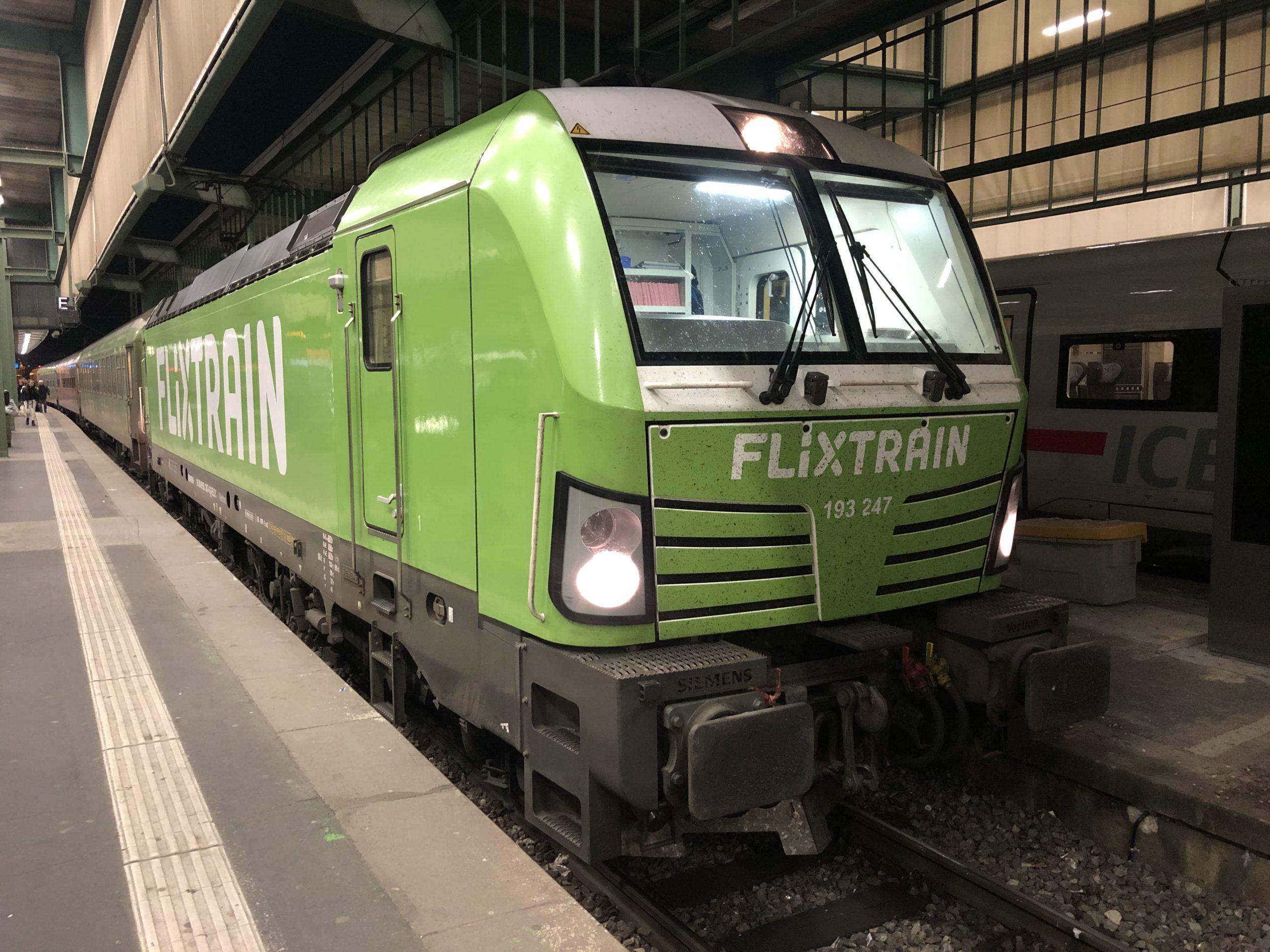 ©Foto: Jan Krehl | railmen | Vectron, Baureihe 193 bespannter FLIXTRAIN