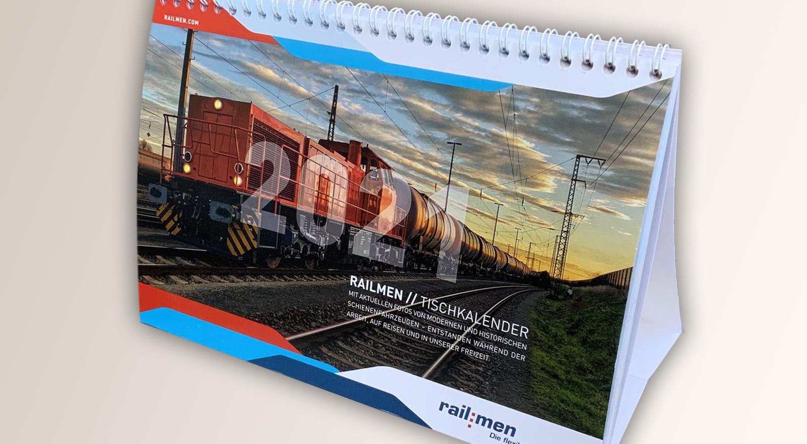 railmen Titelblatt Kalender 2021