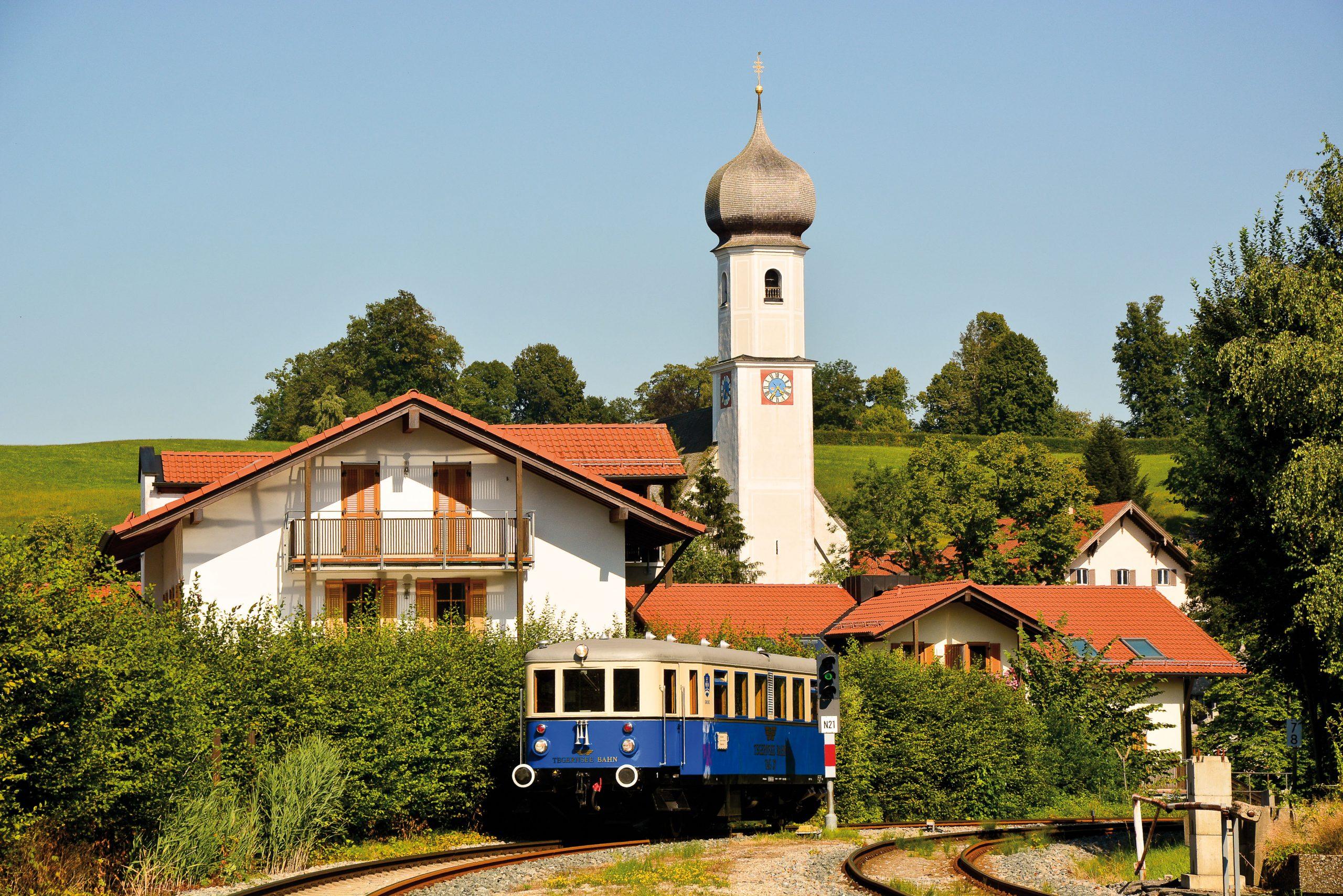 ©Foto: Steffen Mann   railmen   Triebwagen Tag Nr. 27, BJ 1938, Waggonbau Dessau im BF Gmund / Tegernsee