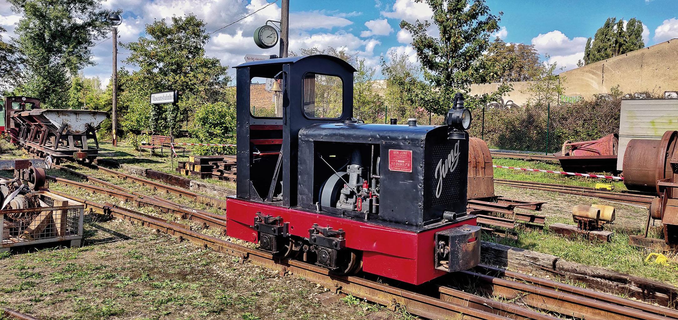 ©Foto: Christian Wörpel   railmen   Ingenieurskunst auf höchstem Niveau – Der Museumsfeldbahn Leipzig-Lindenau e.V. kümmert sich um das Erbe von Karl Heine
