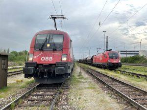 ©Foto: Oliver Külper | railmen | RCAL ZUG IN PASSAU | Eisenbahn-Strecke Passau - Aschaffenburg – Unterwegs für das Eisenbahnunternehmen Railtraxx mit der Baureihe 1116 (Taurus)