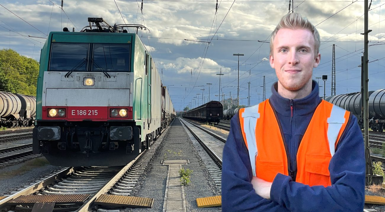 ©Foto: Oliver Külper | railmen | Abfahrbereit in Karlsruhe | Eisenbahnunternehmen: Railtraxx | Baureihe 186