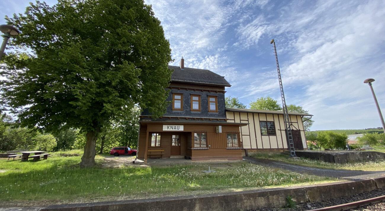 ©Foto: Jan Krehl | railmen | Historische Bahnhof Knau